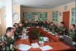 Вчора в Мукачівському прикордонному загоні проводилися навчально-методичні збори