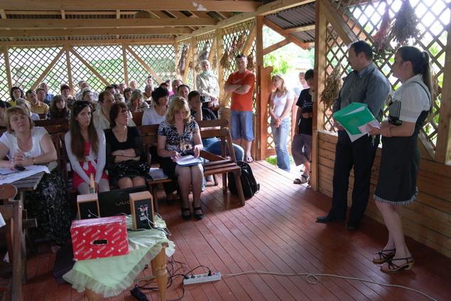 В дендропарку молодь навчається екологічній культурі (ФОТО)