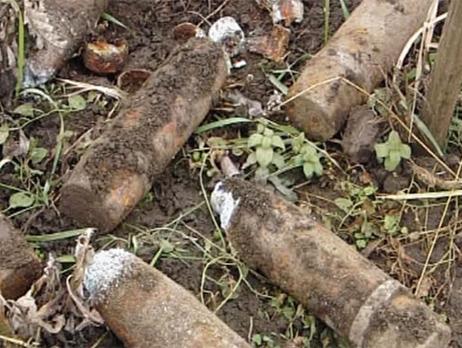 В Ужгороді знешкодили снаряди часів Другої світової війни