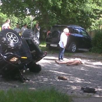 Донька Мирослава Щербея постраждала в аварії на квадроциклі
