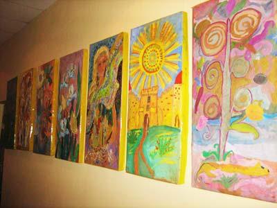 В УМВС пройшла виставка дитячих малюнків