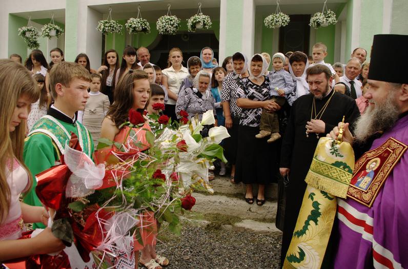 Архієпископ Феодор відвідав храм в селі Нові Лучки