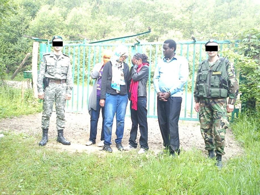Прикордонники зловили сомалійців-нелегалів та їх провідника