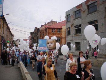 В Мукачеві молились за ненароджених дітей