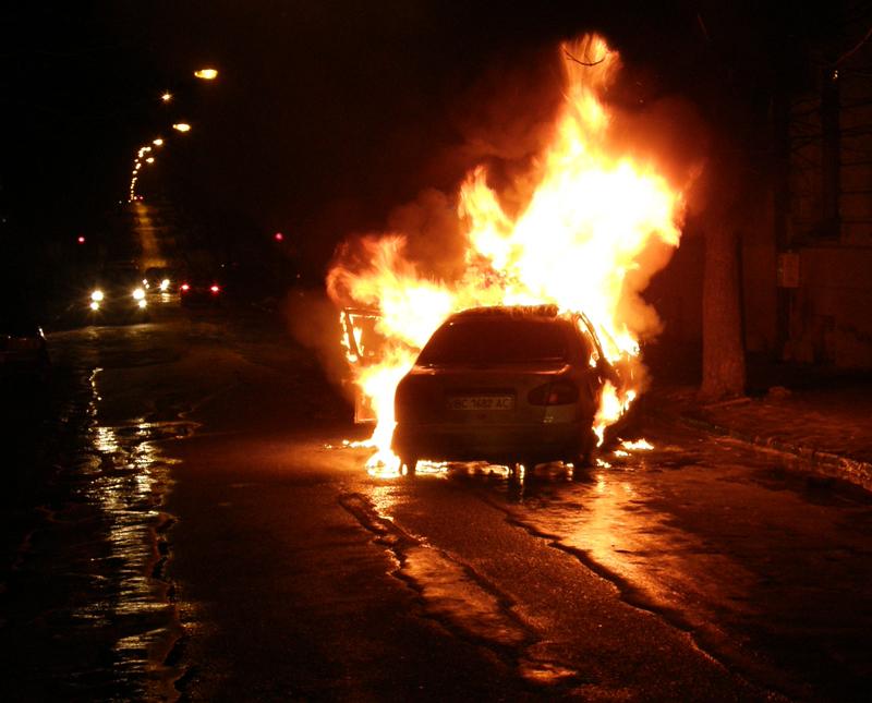 За фактом підпалу автомобіля Маргарити Мощак порушено кримінальну справу