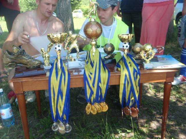 Футболісти з Коропця грають у футбол найкраще (ФОТО)
