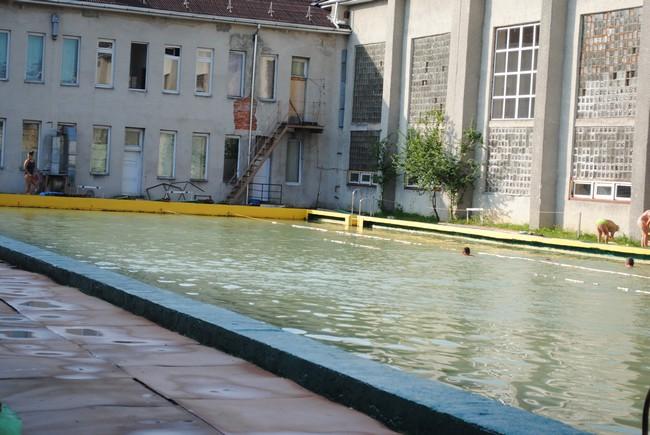 На запуск басейну ДЮСШ у міської влади Мукачева не знайшлось грошей