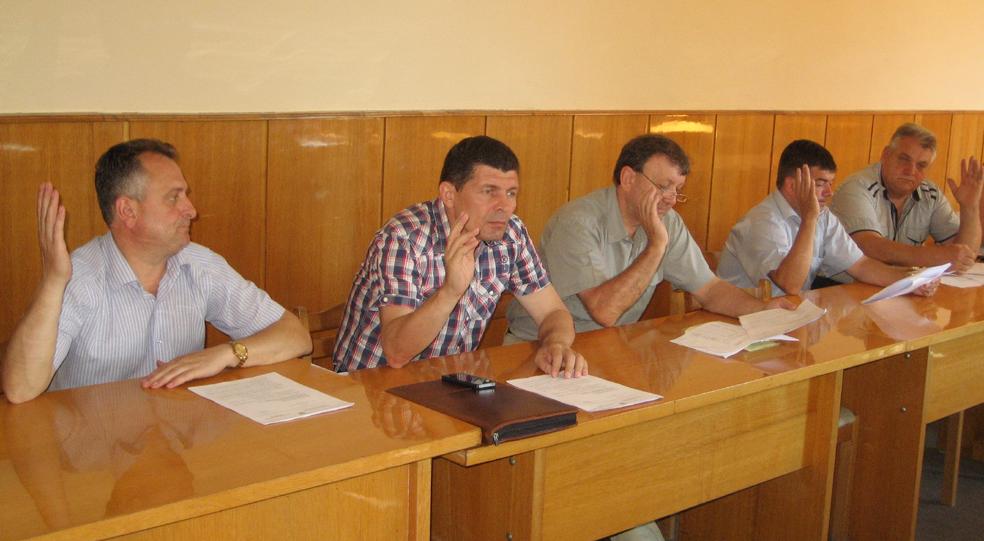 В Берегівській райраді засідала бюджетна комісія