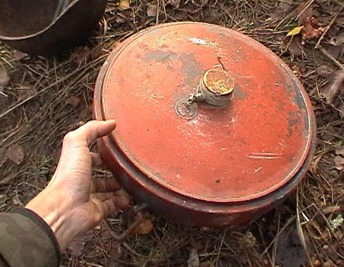 В Мукачеві знайшли міну часів Другої світової