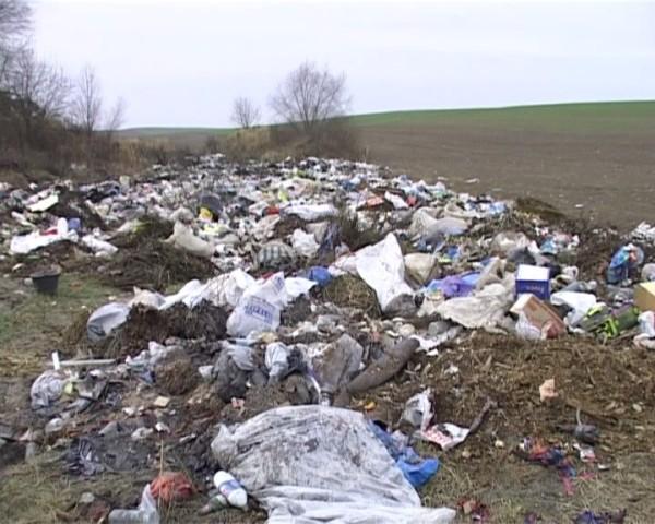 В Зарічеві люди живуть практично на смітнику