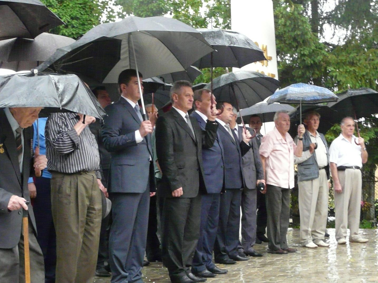 В Ужгороді вшанували жертв війни в Україні
