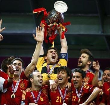 Іспанія перемогла в фіналі Євро-2012
