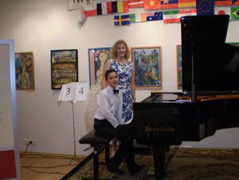 Хлопчик з Мукачева став дипломантом Шопенівського конкурсу піаністів у Будапешті
