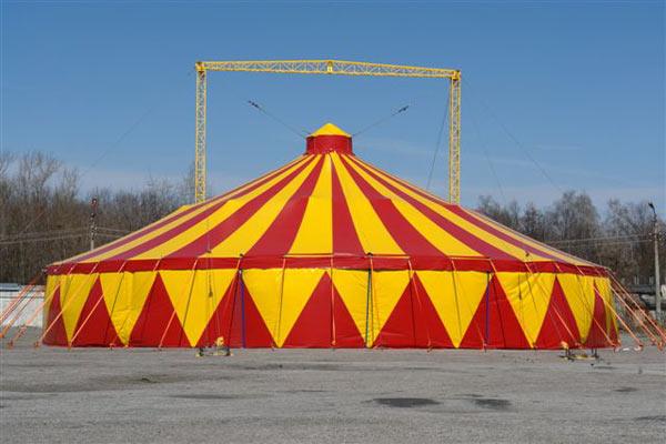 """Цирк-шапіто """"Грузія"""" представить соціальний проект """"Цирк - дітям"""""""