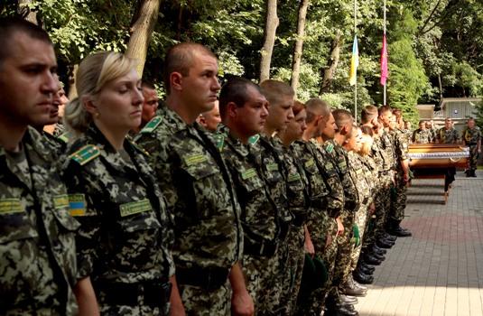 Мукачівські прикордонники попрощались з бойовими товаришами, що загинули під час аварії літака (ФОТО)