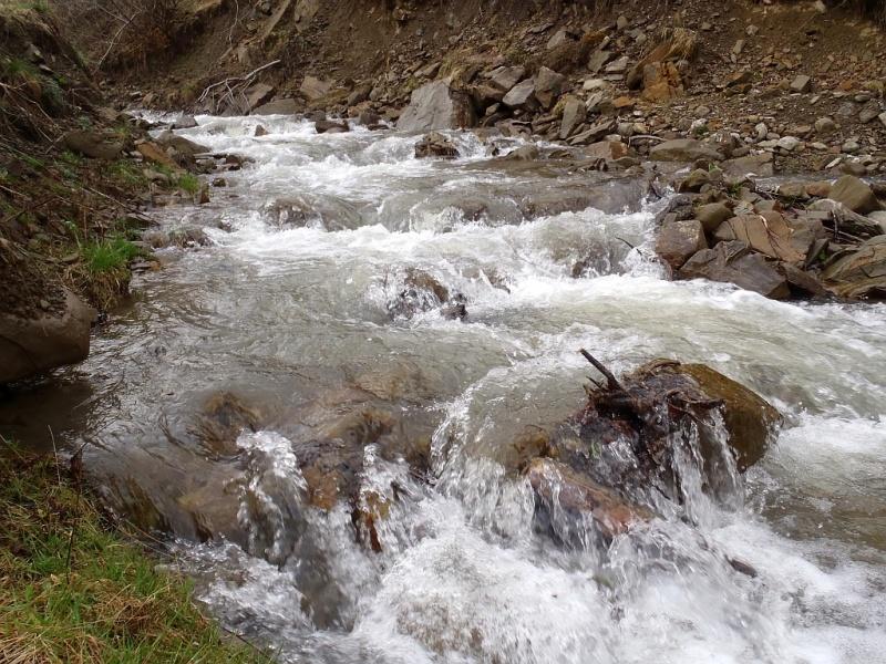 На Рахівщині грунтовими водами підтопило літню кухню