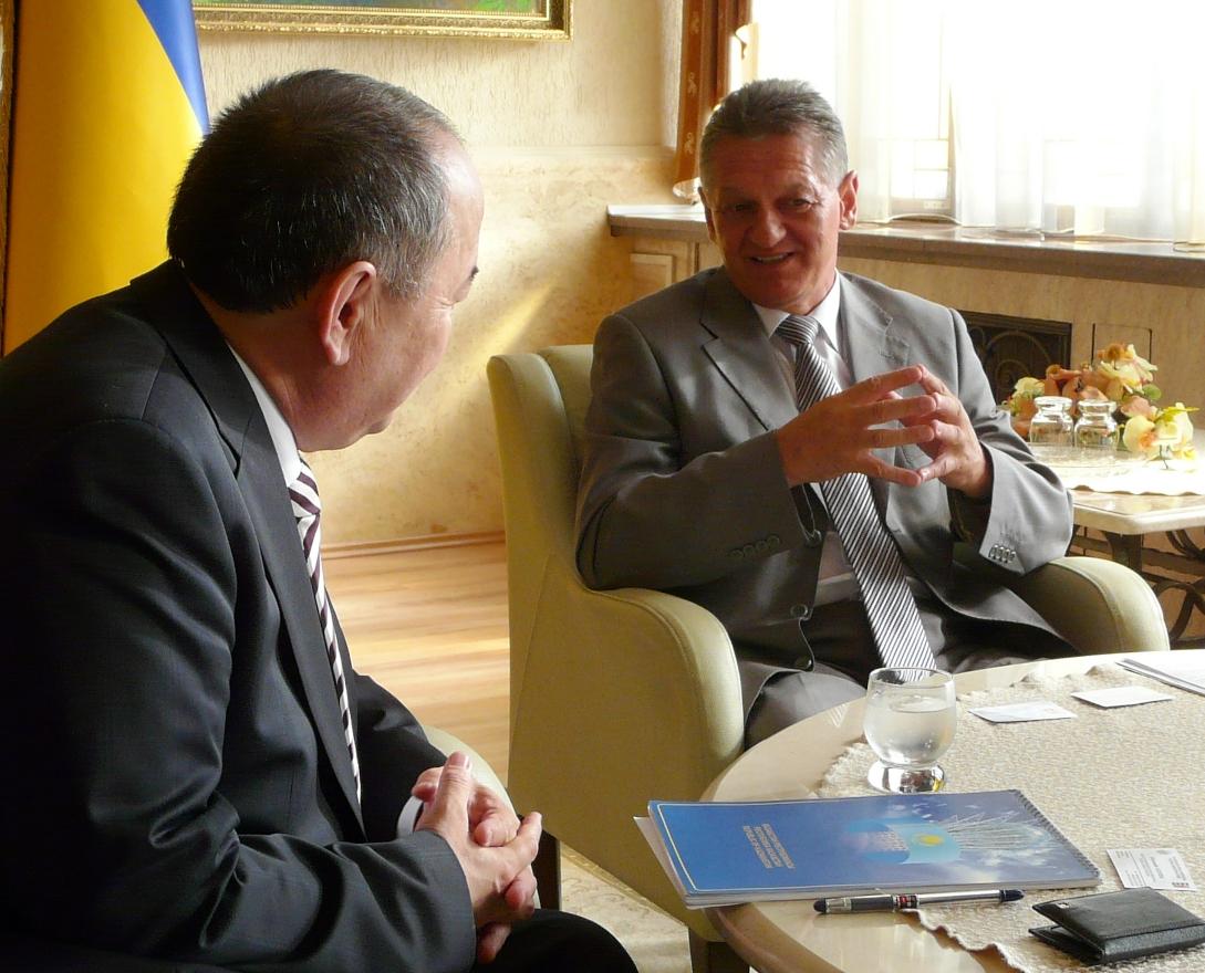 На Закарпаття завітала делегація з Казахстану