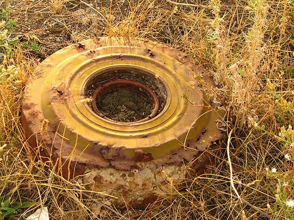 На Мукачівщині знайшли міну часів Другої світової