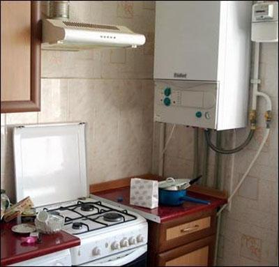 В ужгородки в квартирі знайшли незареєстрований газовий котел