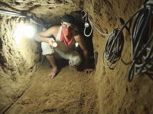 На кордоні виявили тунель для переправлення контрабанди