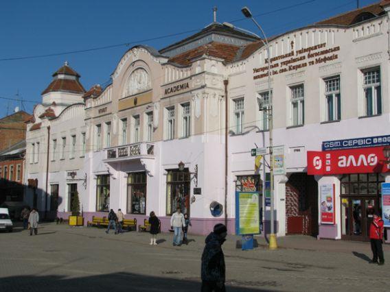 Триває скандал навколо історичної будівлі в центрі Ужгорода