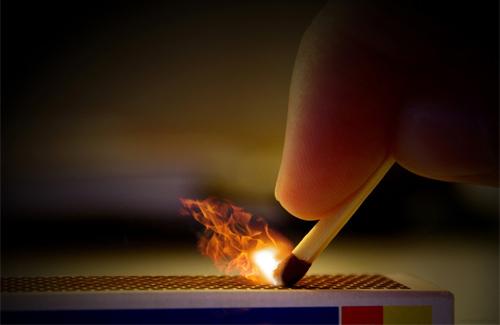 В Мукачеві найбільша кількість підпалів