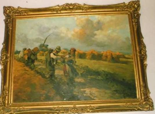 В Мукачеві невідомі викрали картини (ФОТО)