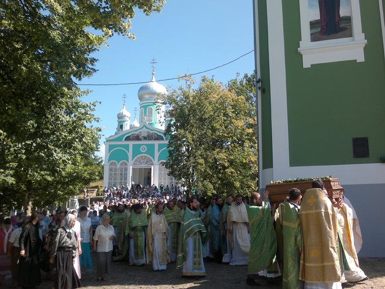 В Мукачівському монастирі вшанували пам'ять преподобного Моісея Угрина
