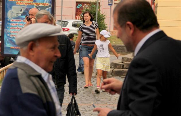 Віктор Балога приїхав до Мукачева (ФОТО)