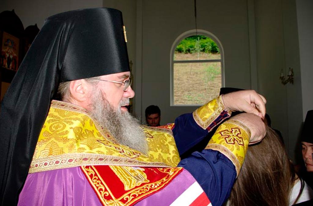Архієпископ Феодор звершив чернечий постриг