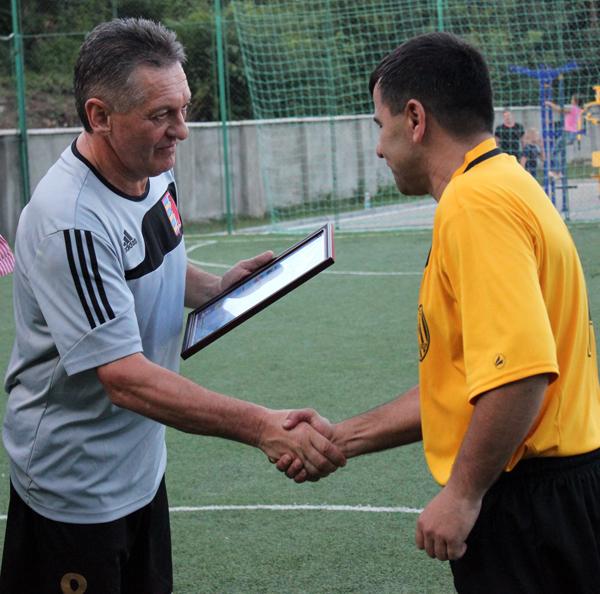 Олександр Ледида відзначився у футбольному матчі до Дня Незалежності