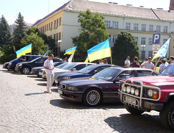 """Сьогодні стартує автопробіг """"Молодь єднає Україну!"""""""
