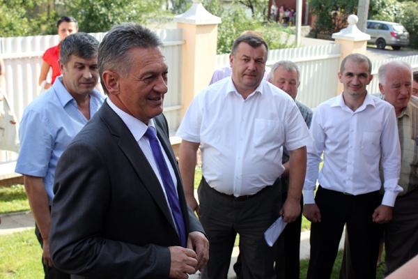 Губернатор Закарпаття відвідав Свалявщину (ФОТО)
