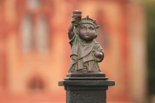Ужгородську Свободку причепурили до Дня Незалежності України (ФОТО)