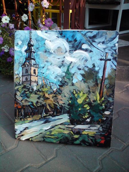 Напередодні BEREG FEST-2012 на Берегівщині організували благодійний мистецький пленер (ФОТО)