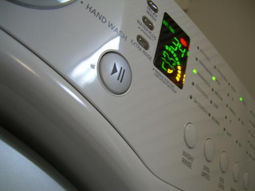 В Хусті через замикання електропроводки загорілась пральна машина