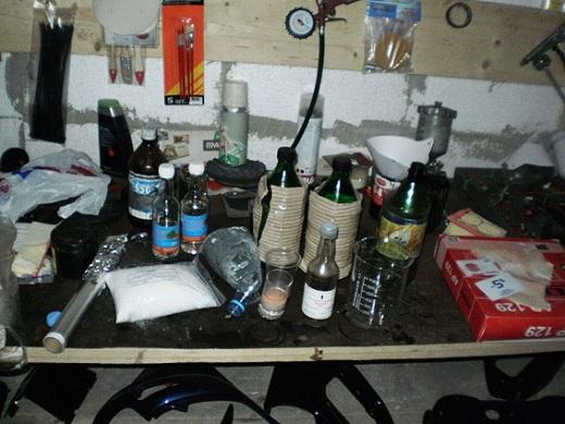 На Житомирщині прикрили дві нарколабораторії (ФОТО)