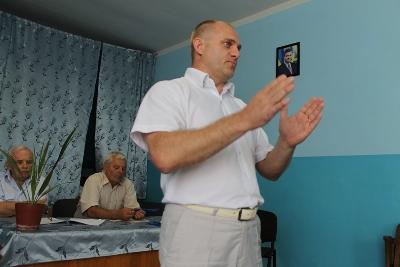 Вячеслав Шутко виступив у рідних Ключарках (ФОТО)