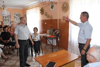 Вячеслав Шутко провів зустрічі з виборцями у так званих «німецьких» селах (ФОТО)