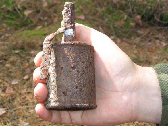 В Мукачеві знешкодили осколкову гранату