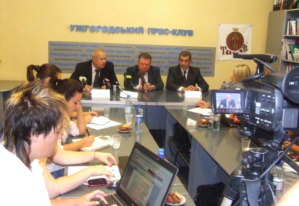 В Ужгороді відбулась конференція організаторів З'їзду судинних хірургів і ангіологів