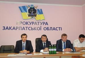 На колегії в Закарпатській прокуратурі говорили про якість слідства