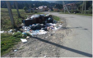 Одна з основних туристичних атракцій Закарпаття схожа на сміттєзвалище