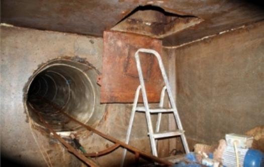 Проти двох закарпатців порушено кримінальну справу через причетність до контрабандного тунелю