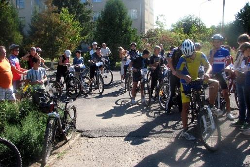 В Мукачеві пройшли змагання з велоорієнтування (ФОТО)