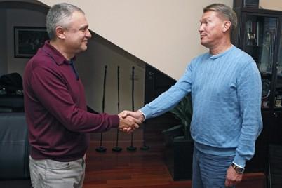 """Офіційно. Олег Блохін призначений головним тренером """"Динамо"""""""