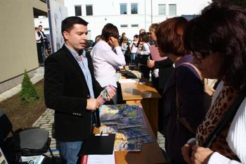 В Ужгороді відбувся щорічний ярмарок вакансій