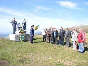 На полонині Руна вшанували пам'ять героїв партизанської слави