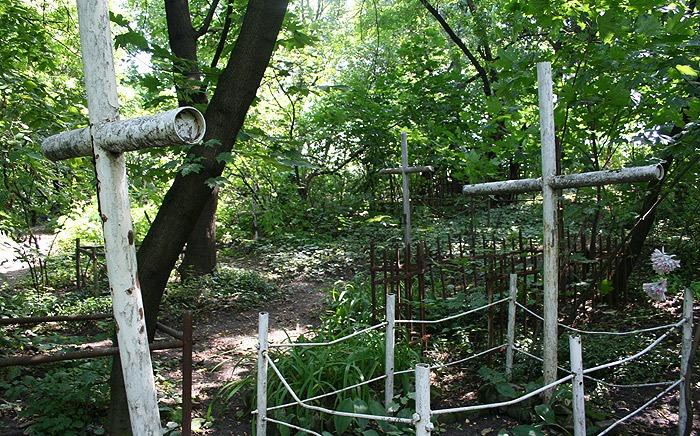 На Перечинщині вандали викрали з кладовища металеві хрести