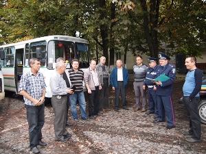 Свалявські ДАІшники провели профілактичну бесіду з водіями пасажирського транспорту
